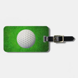 Etiqueta del equipaje del golf etiquetas de equipaje