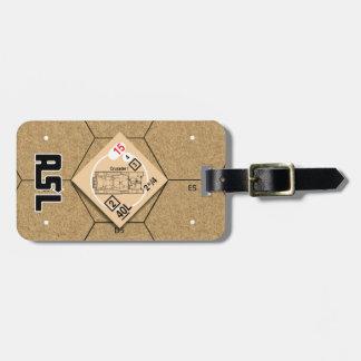 Etiqueta del equipaje del Mk I del cruzado del ASL Etiqueta De Equipaje