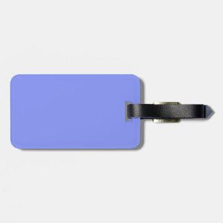 Etiqueta del equipaje del negro y de los azules ci etiquetas maleta