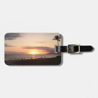 Etiqueta del equipaje del océano de Maui Hawaii de Etiqueta Para Maleta