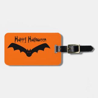 Etiqueta del equipaje del palo de Halloween Etiquetas De Equipaje