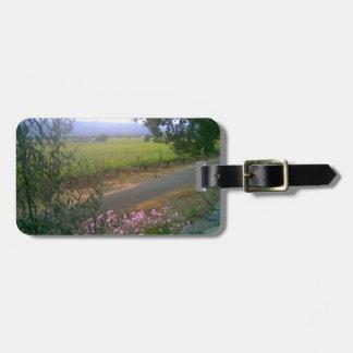Etiqueta del equipaje del rastro de Napa Silverado Etiquetas De Equipaje