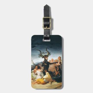 Etiqueta del equipaje del Sabat de las brujas de G Etiqueta De Equipaje
