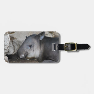 Etiqueta del equipaje del Tapir Etiquetas Maletas