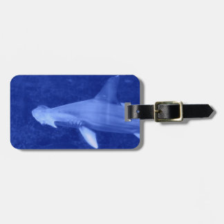 Etiqueta del equipaje del tiburón de Hammerhead Etiquetas Maletas