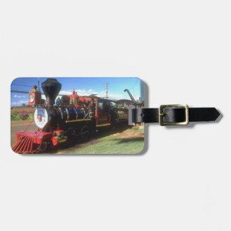 Etiqueta del equipaje del tren del vapor etiquetas de maletas