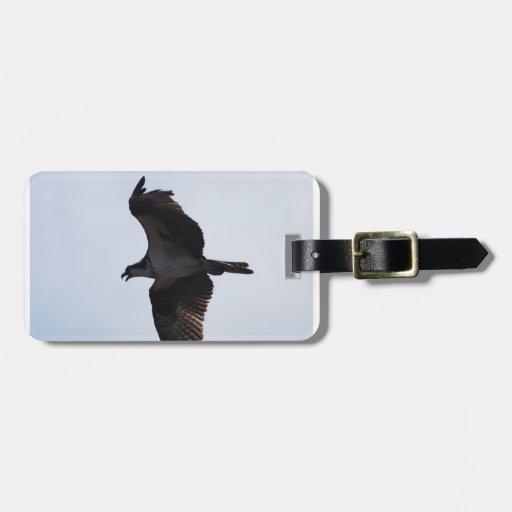 Etiqueta del equipaje del vuelo de Osprey Etiquetas De Equipaje