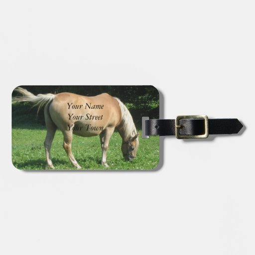 Etiqueta del equipaje: Pasto del caballo, Baviera, Etiqueta De Equipaje