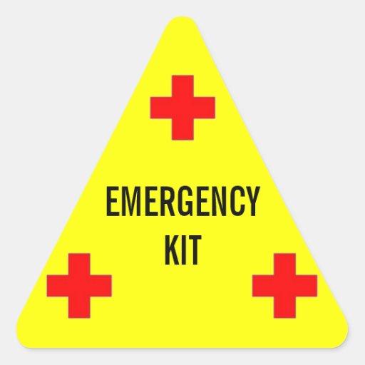 Etiqueta del equipo de la emergencia