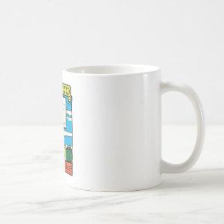 Etiqueta del estado de New México nanómetro del Taza De Café