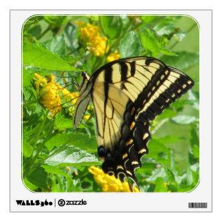 Etiqueta del este de la pared de Swallowtail del t