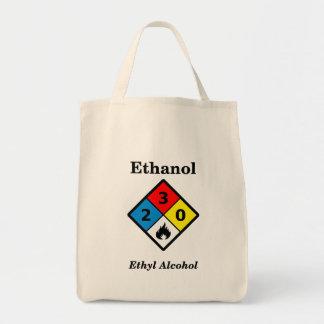 Etiqueta del etanol MSDS Bolsa Tela Para La Compra