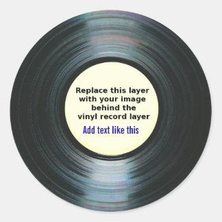 Etiqueta del expediente de la música del negro