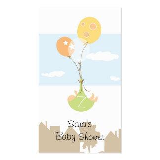 Etiqueta del favor de fiesta de fiesta de bienveni tarjetas de visita