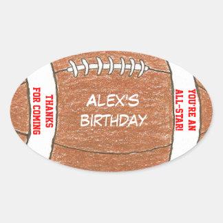 Etiqueta del favor de la fiesta de cumpleaños del