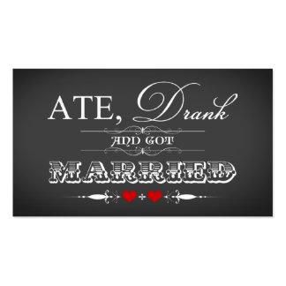 Etiqueta del favor del boda del estilo de la pizar plantilla de tarjeta personal