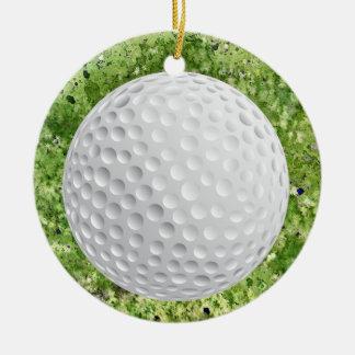 Etiqueta del golf/ornamento - SRF Adorno Redondo De Cerámica