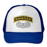 Etiqueta del guardabosques - insignia del ataque a gorras