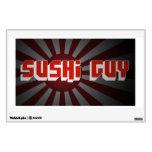 Etiqueta del individuo del sushi