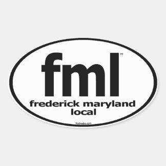 Etiqueta del Local de FML Frederick Maryland