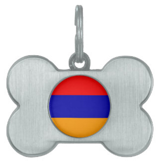 Etiqueta del mascota de Armenia Placa De Mascota