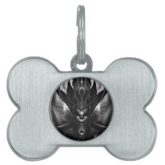 Etiqueta del mascota de BlackSun del BEBÉ de Placas De Mascota