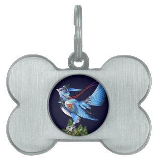 Etiqueta del mascota de Feathyrkin Veeku Placa De Mascota