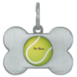 Etiqueta del mascota de la plantilla del nombre de placa mascota