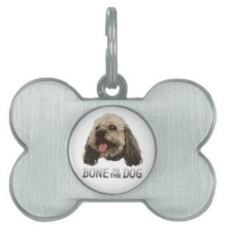 Etiqueta del mascota de Woodrow Placas De Nombre De Mascota