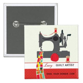 Etiqueta del nombre del artista del arte del pin