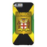 Etiqueta del oro de Jamaica Funda Barely There iPhone 6