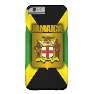 Etiqueta del oro de Jamaica Funda Para iPhone 6 Barely There