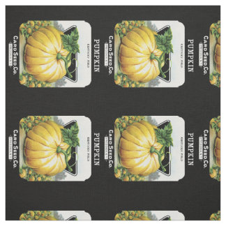 Etiqueta del paquete de la semilla de calabaza telas