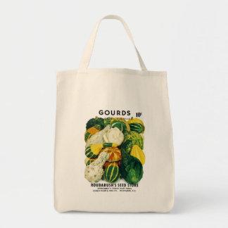 Etiqueta del paquete de la semilla de Gords Bolsa Tela Para La Compra