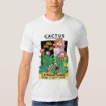 Etiqueta del paquete de la semilla del cactus poleras