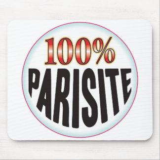 Etiqueta del parásito tapetes de raton