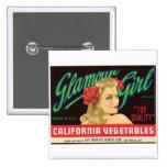 Etiqueta del producto alimenticio de las verduras  pin