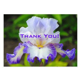 Etiqueta del regalo de boda del iris/tarjeta de vi tarjetas de visita