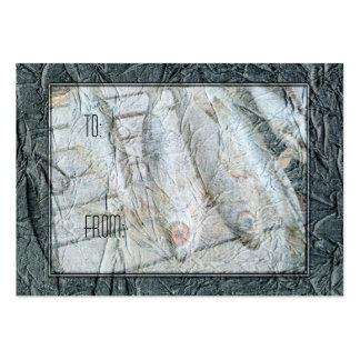 Etiqueta del regalo de Fishin del compartimiento Tarjetas De Visita Grandes