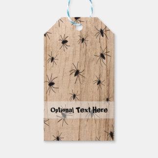 Etiqueta del regalo de Halloween de las arañas Etiquetas Para Regalos