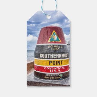 Etiqueta del regalo de Key West la Florida Etiquetas Para Regalos