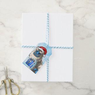 Etiqueta del regalo de Yeti Etiquetas Para Regalos