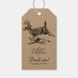 Etiqueta del regalo del papel de Kraft del favor Etiquetas Para Regalos