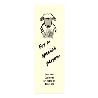 etiqueta del regalo - persona especial (2) tarjeta de visita