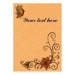Etiqueta del regalo/tarjeta-acción de gracias/caíd tarjetas de negocios
