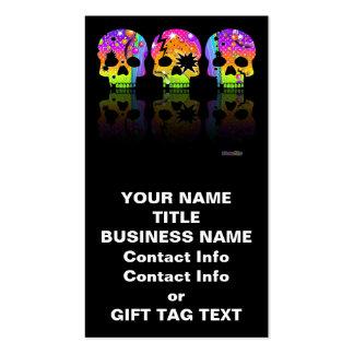 Etiqueta del regalo, tarjeta de visita - CRÁNEOS