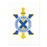 Etiqueta del regimiento de infantería de los E.E.U Postales