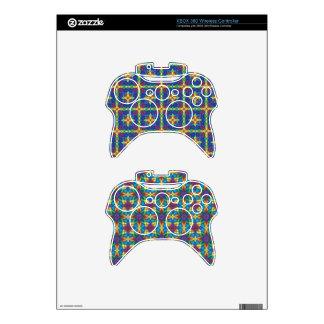 Etiqueta del regulador del videojuego mando xbox 360 skins