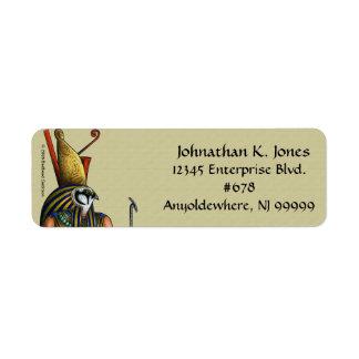 Etiqueta del remite de Horus Etiqueta De Remitente