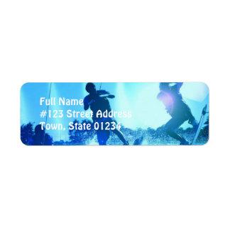 Etiqueta del remite del trío de Wakeboard Etiqueta De Remite